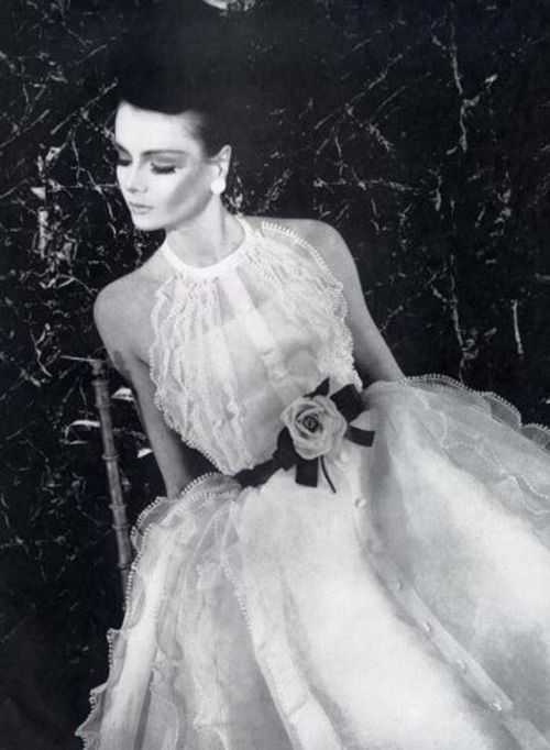 Christian Dior - Spring 1963 - Design by Marc Bohan - Embroideries by Saint-Gall - L'Officiel - @~ Mlle