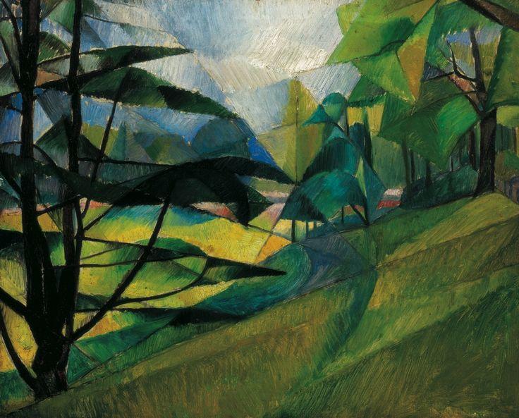 Szobotka Imre (1890-1961) - Landscape