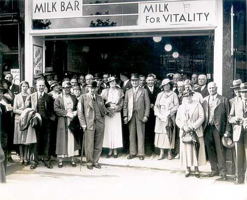 Classic 1935 Milk Bar Coffee Tavern