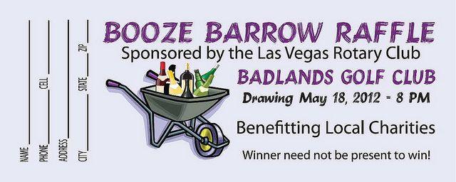 booze barrow raffle