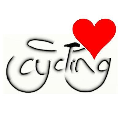 Simply...I love cycling.