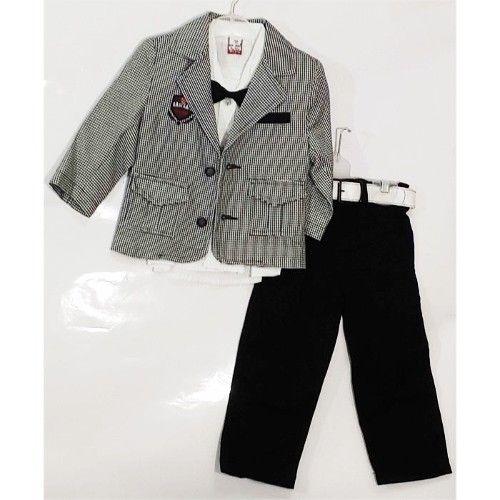 Papyonlu Uzun Kol Ceketli Takım 1 Yaş 59,90 TL ile n11.com'da! Babylon Takım Elbise fiyatı ve özellikleri, Çocuk Giyim