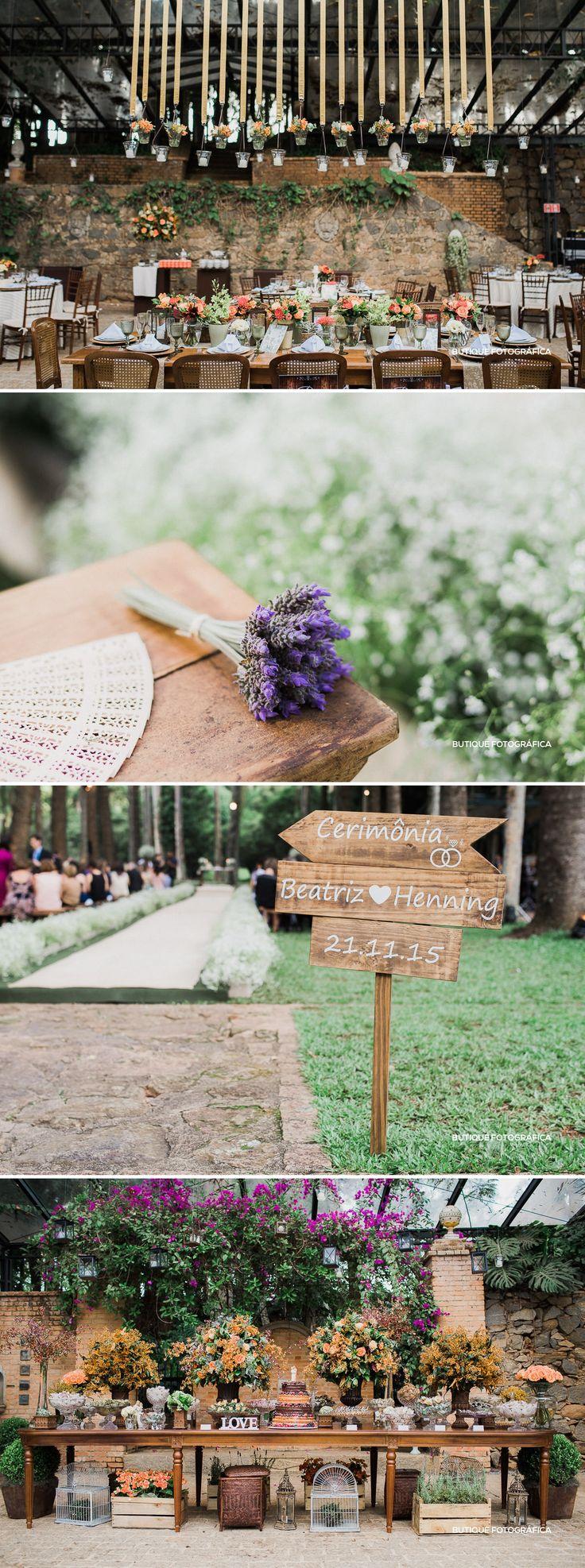 Decoração Casamento Rústico Chique no Campo