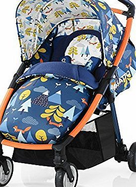 Cosatto  Fly Travel System (Fox Tale) Keep them under your wing with this fully-fledged do-all. Armful of baby? Fold on the fly with one-handed ease.<br /> Compact and perfectly portable, just pop them (Barcode EAN = 5021645046371) http://www.comparestoreprices.co.uk/december-2016-week-1/cosatto-fly-travel-system-fox-tale-.asp