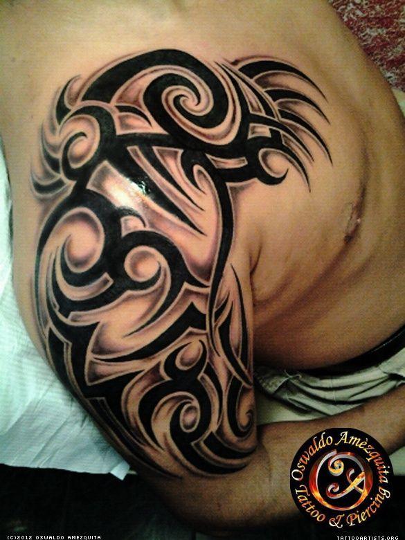 Tribal Arm Tattoo Tatuaje de Tribal Brazo