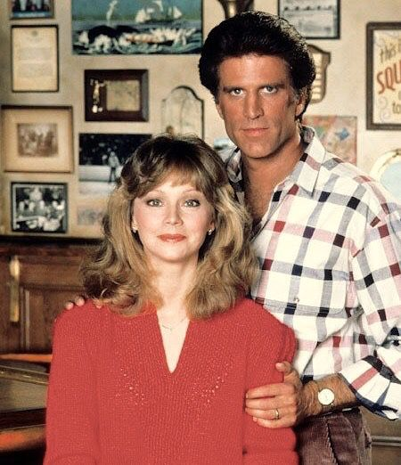 Shelley Long and Ted Dansen