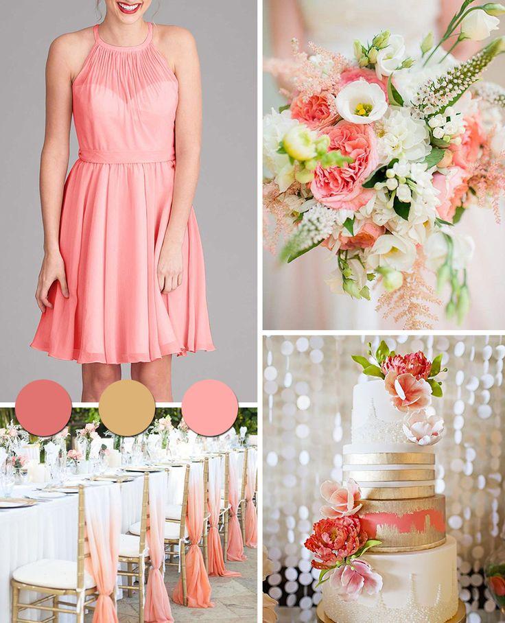 26 best Coral Weddings images on Pinterest | Coral weddings ...