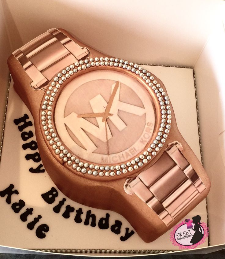 Michael kors watch cake More