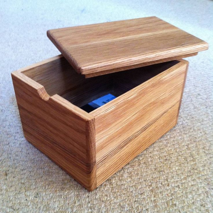Personalised handmade keepsake box marking a special moment in time. £35.00