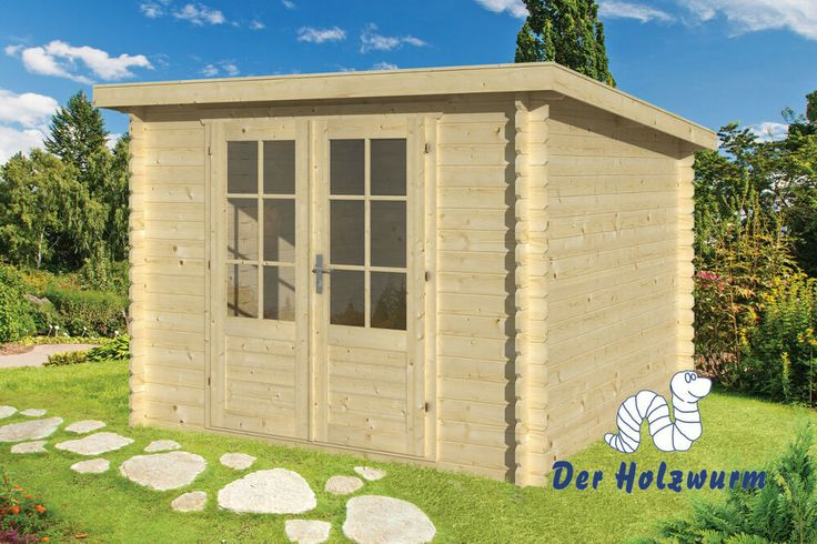 eBay Sponsored Gartenhaus Jörgen Blockhaus 290x290 cm
