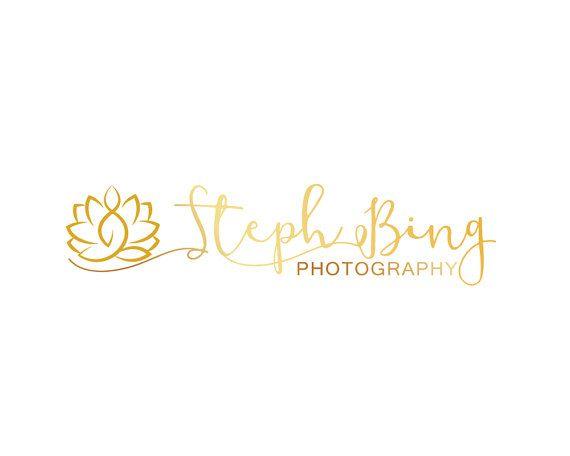 Gold Branding Kit Floral Branding Kit Custom by LoveArtsStudio