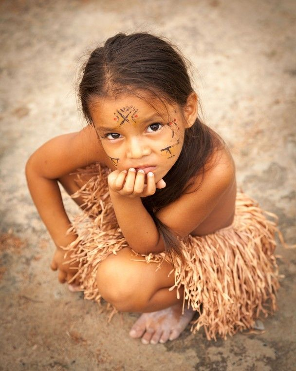 Girl from the Amazon, Manaus, Brazil