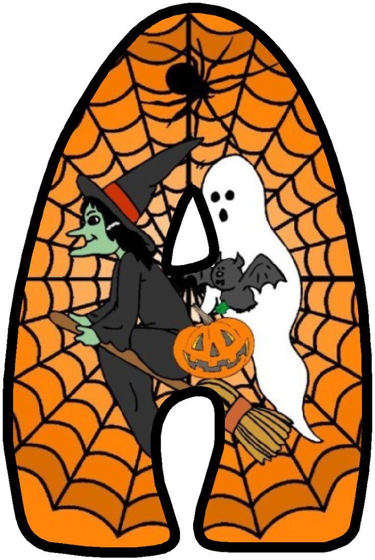 Halloween Alphabet Letter R Cat Witch Ryta: 1795 Best Alpha HALLOWEEN 2 Images On Pinterest