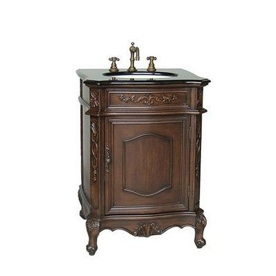 "Resto Antique 24"" Single Sink Bathroom Vanity by Chans Oriental | Discount Bathroom Vanities"