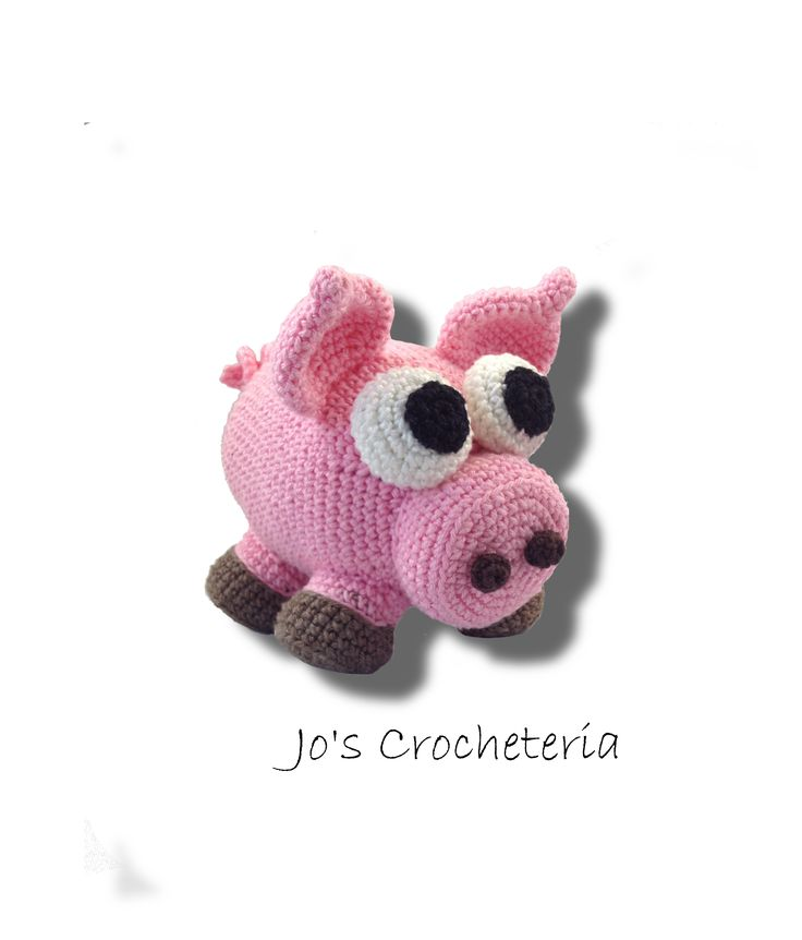 Free Crochet Pattern Sven the Pig Amigurumi by Jo's Crocheteria  #crochetpig #crochetamigurumi #freecrochet #freecrochetpattern #crochetpatternsfree #crochetfreepattern #crochetdesigns #easycrochetpatterns #patternsforcrochet #freeeasycrochetpatterns #allfreecrochet #crochetideas #simplecrochetpattern