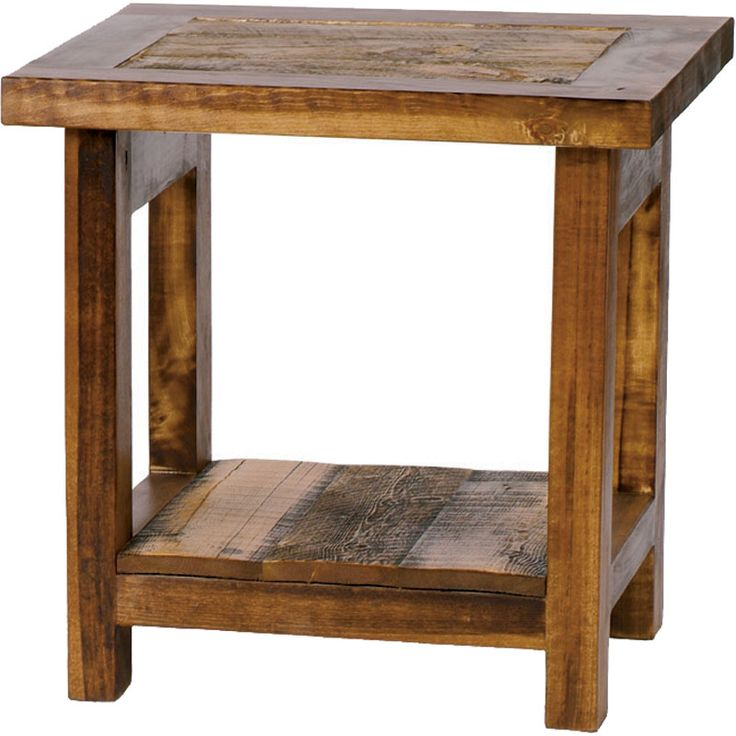 Best 25 Rustic End Tables Ideas On Pinterest End Tables