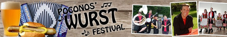 Poconos' Wurst Festival - Shawnee Mountain Ski Area - Summer and Fall Events & Festivals, Pocono Mountains, PA