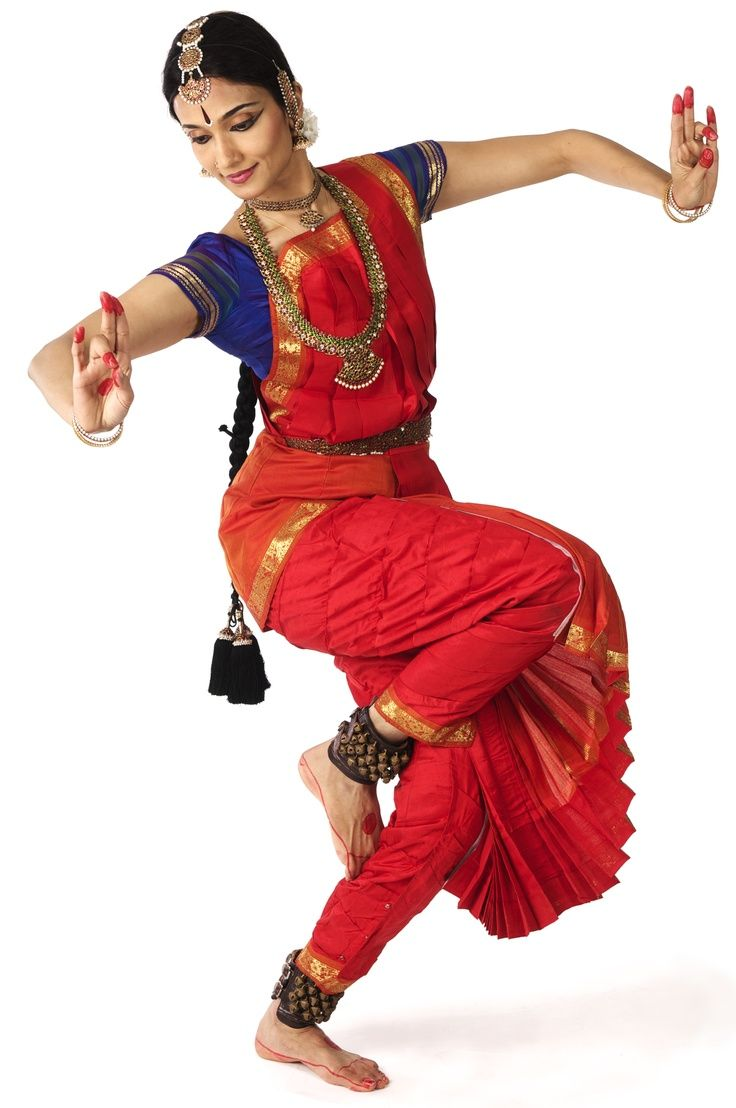 South Indian style classical dance
