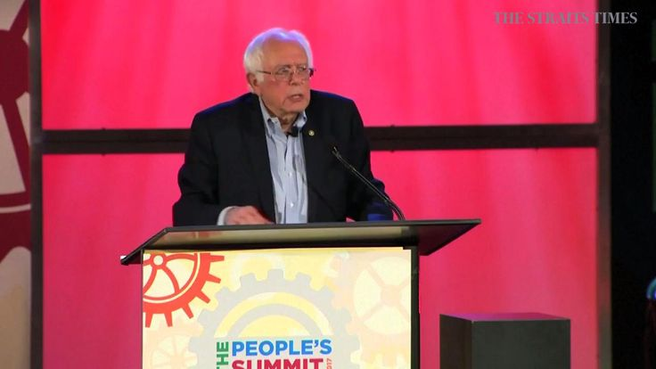 "CHICAGO, UNITED STATES (REUTERS)  - Vermont Senator Bernie Sanders called President Donald Trump the ""worst and most dangerous president in the history of our country"" and blasted him as not being a friend of the working class at a summit of progressive activists in Chicago on Saturday (June 10).. Read more at straitstimes.com."