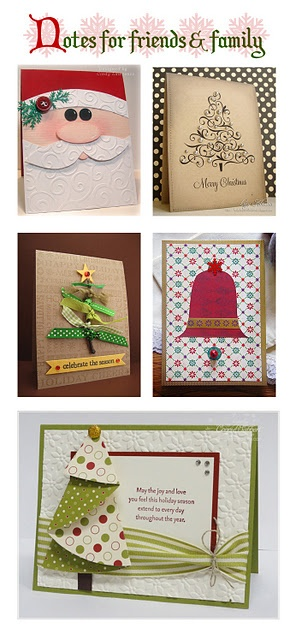 My favorite handmade Christmas cards