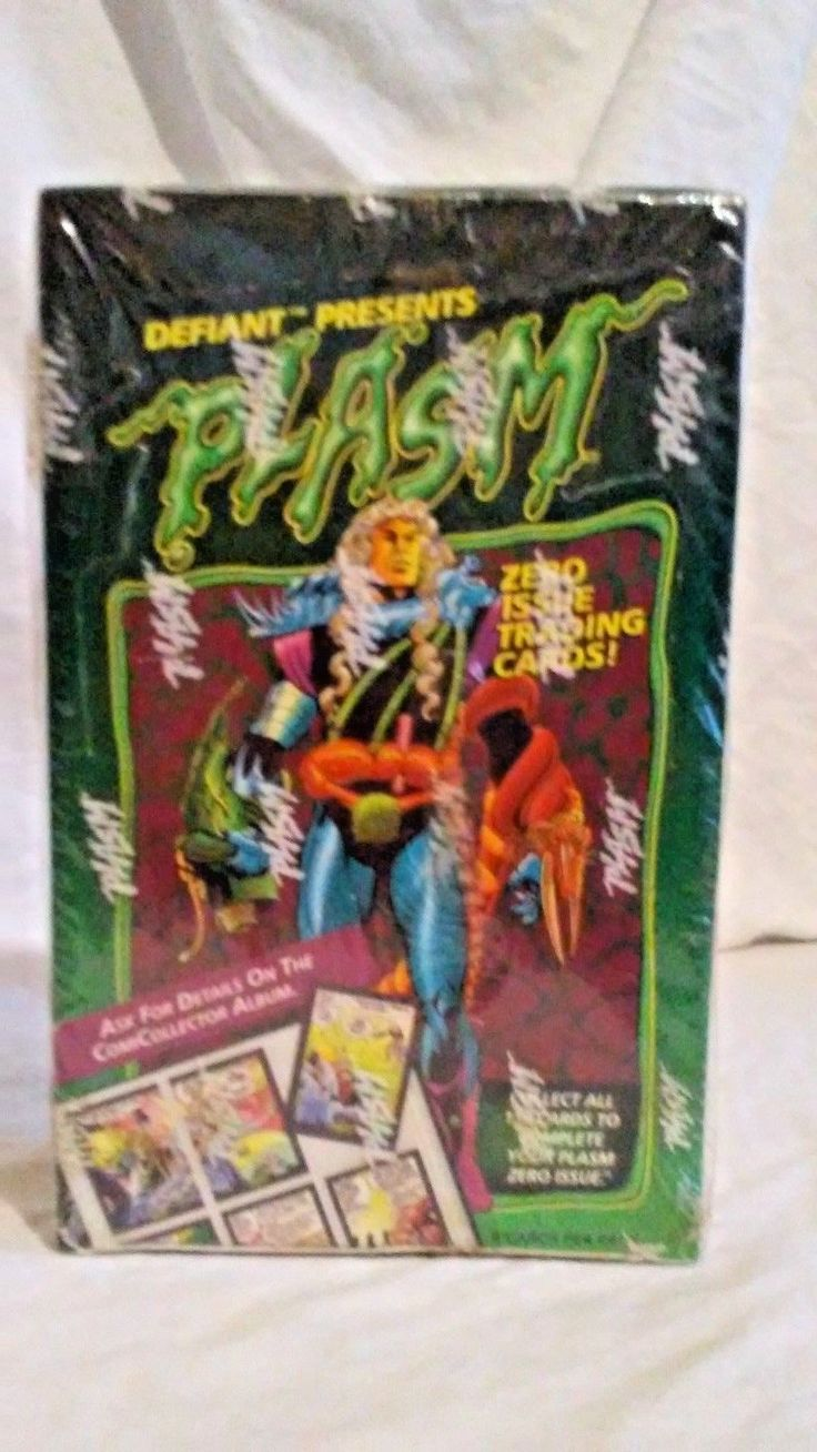 SEALED! 1993 Plasm Defiant Zero Issue comics collectors cards FREE SHIPPING!