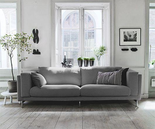 IKEA Nockeby bank - lichtgrijze variant kopen