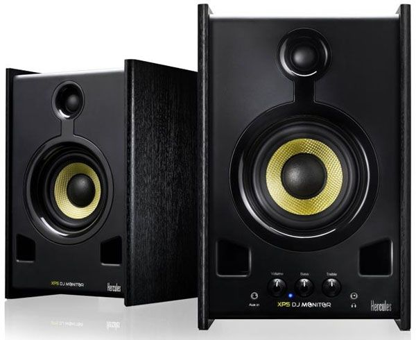For all the young, inspiring DJ's out there, we know life can be hard and expensive; but rejoice, things are about to get easier. The Hercules XPS 2.0 80 DJ Monitor Speaker System is here to save you money and save your back from the painstaking effort of trying to carry around heavy DJ equipmen