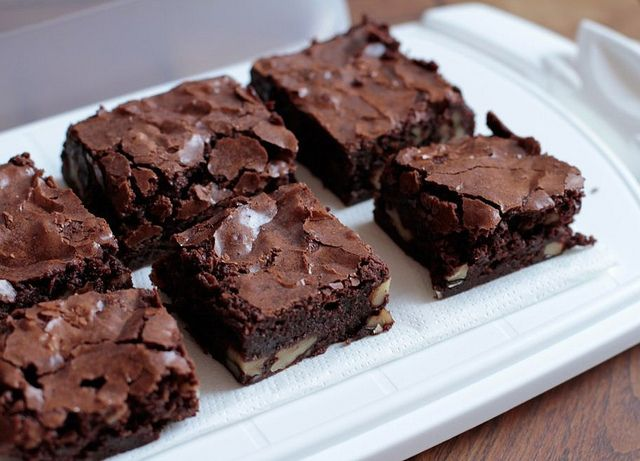 Mis brownies favoritos by Bea Roque, via Flickr