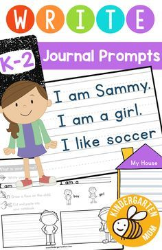 These 30 guided writing prompts are an effective way for children to explore beginning language concepts by putting their thoughts, ideas and feelings onto paper. A variety of topics and themes are covered throughout this collection, each designed to introduce children to different ways of presenting information through  written work. Each writing assignment guides children with small instructional cues and provides the necessary vocabulary to complete the task.