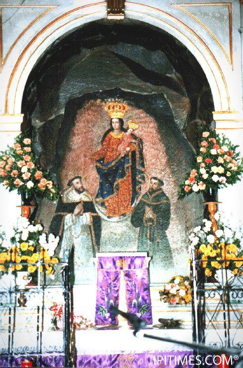 La Virgen de Las Lajas, en Ipiales, Nariño, Colombia. IPITIMES.COM