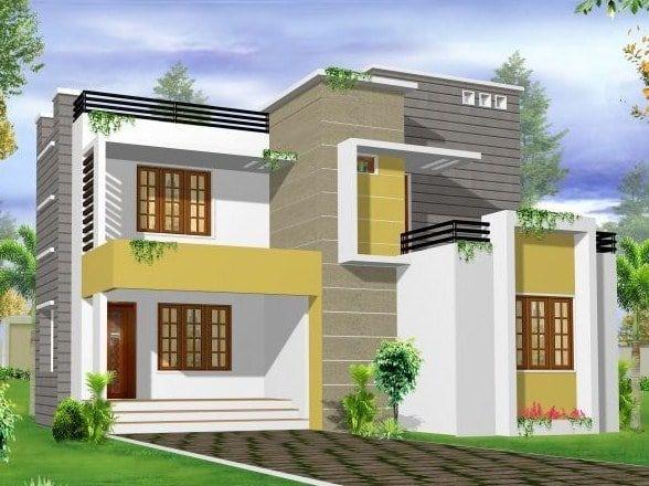 Gambar Rumah Minimalis 2 Lantai Tampak Depan Desain Plafon Ruang Tamu Home Fashion Rumah Minimalis