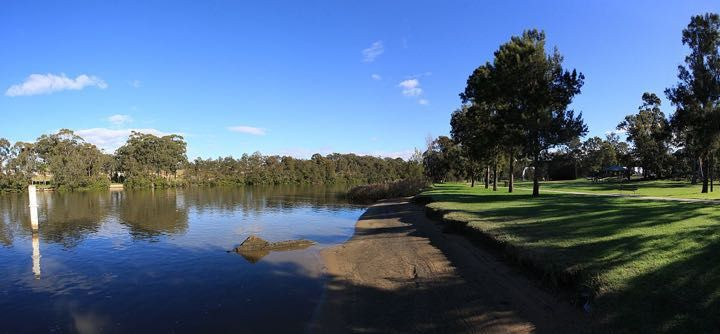 Georges river easthills