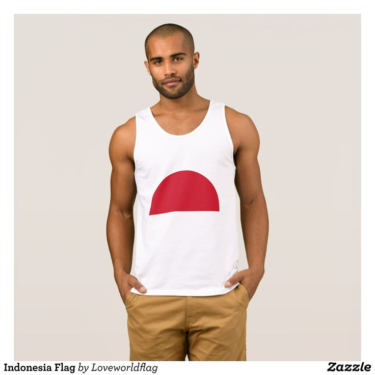 Indonesia Flag Tank Top - Comfy Moisture-Wicking Sport Tank Tops By Talented Fashion & Graphic Designers - #tanktops #gym #exercise #workout #mensfashion #apparel #shopping #bargain #sale #outfit #stylish #cool #graphicdesign #trendy #fashion #design #fashiondesign #designer #fashiondesigner #style
