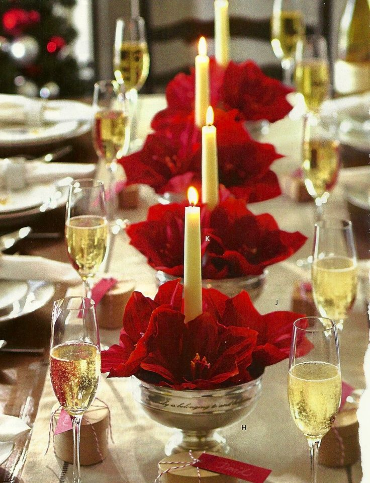 Gorgeous Christmas Tables Beautiful For You Holiday