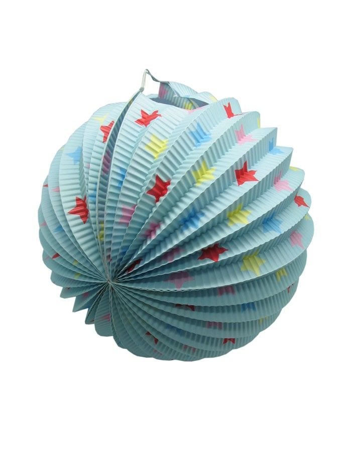 Pack of 6 Rainbow Stars Lantern - All the blues party packs $105 http://www.strawberry-fizz.com.au