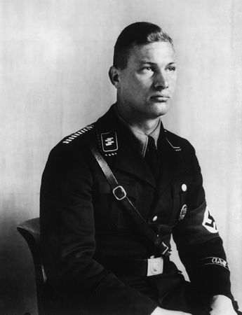 Member of Hitler's SS Bodyguard (c. 1940) - Sander Collection - Photography - Amber Online