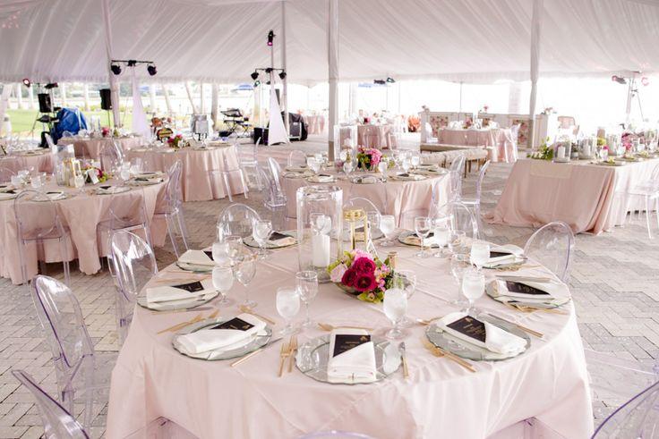 A Glamorous Modern Wedding Reception at Cà d'Zan Mansion in Sarasota, FL - The Celebration Society