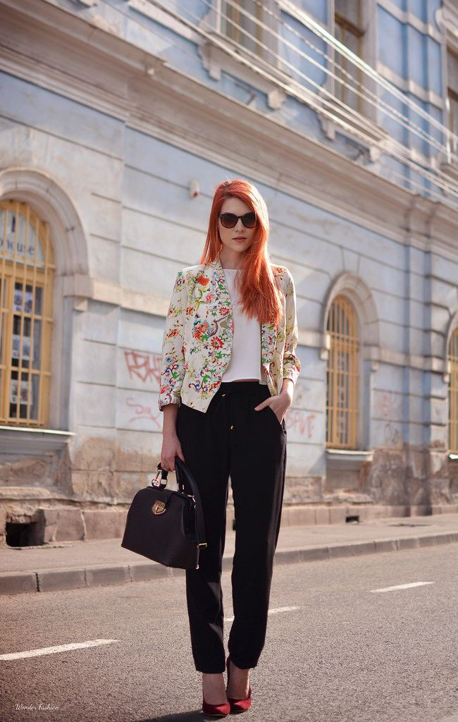 Smart casual look for Spring