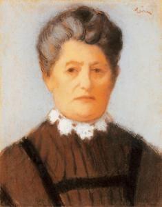 Elderly Lady with Lace-collar - József Rippl-Rónai - The Athenaeum