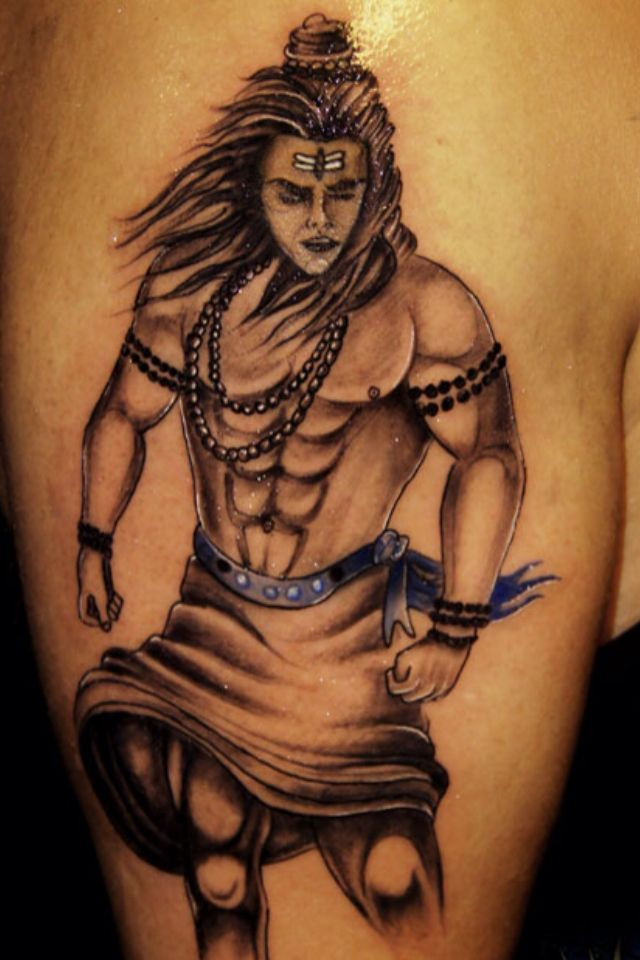 Lord shiva tattoo by Vikas Malani at body canvas
