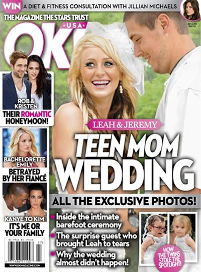 See Exclusive Pictures Of Teen Mom Leah Messer's Wedding To Jeremy Calvert! (Photo)