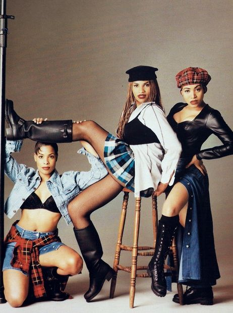 Salt-n-Pepa, hip-hop trio consisting of Cheryl James (Salt), Sandra Denton (Pepa) and Deidra Roper (DJ Spinderella). They are one of the 1st all-female rap crews, and the 1st female rap act to go gold, platinum or multiplatinum or to win a Grammy. Their hits include Push It, The Showstopper, My Mic Sound Nice, Tramp, Your Thang, Chick On The Side, Expression, Do You Want Me, Let's Talk About Sex, Whatta Man,  Shoop. They have performed at VH1's Hip Hop Honors and Legends of Hip Hop Tour.