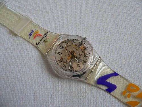 Sydney Olympics Swatch Watch Price | 1996 Vintage Swatch Watch Olympic Team USA.