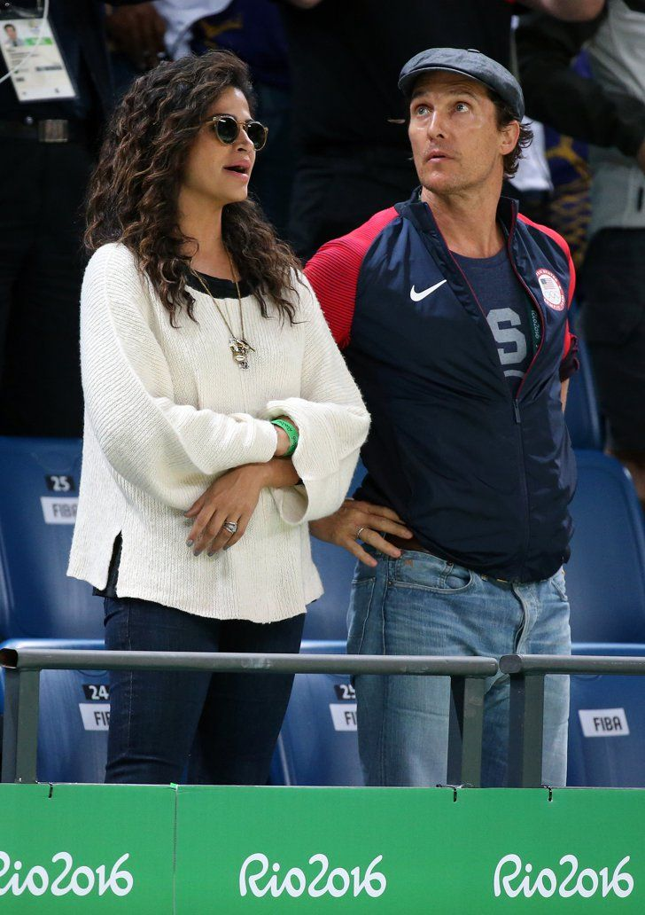 Pin for Later: Matthew McConaughey et Camila Alves S'éclatent aux Jeux Olympiques