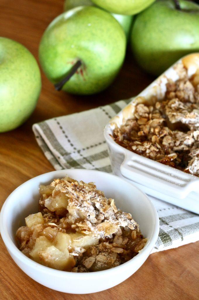 Dandelion Breakfast Apple Crumble