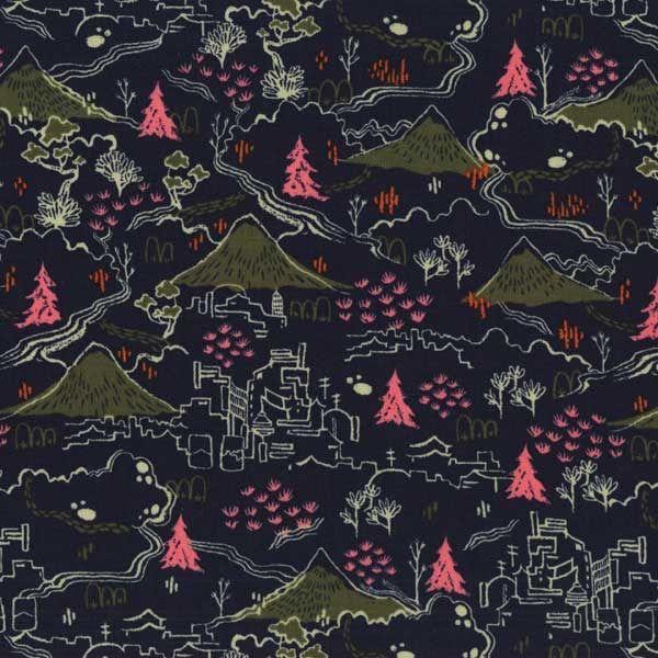 tissu patchwork collection FUJI par COTTON + STEEL made in japan : Tissus pour Patchwork par les-bricoles-de-m-martine