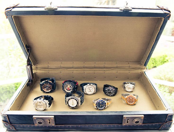@Steve Angello ´s amazing watch collection. @The Coveteur feature @Isabel Adrian