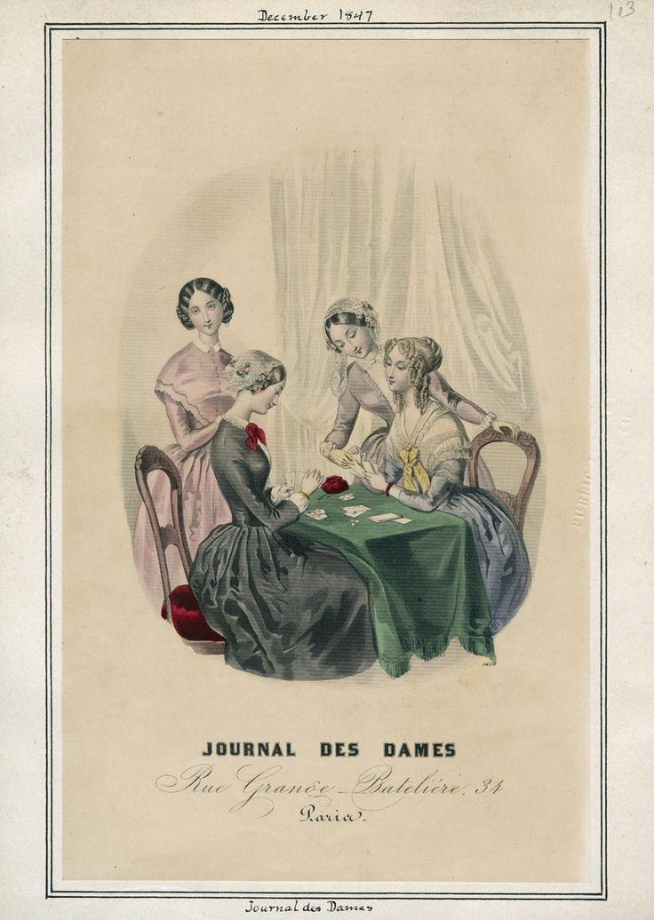 Journal des Dames December 1847 LAPL