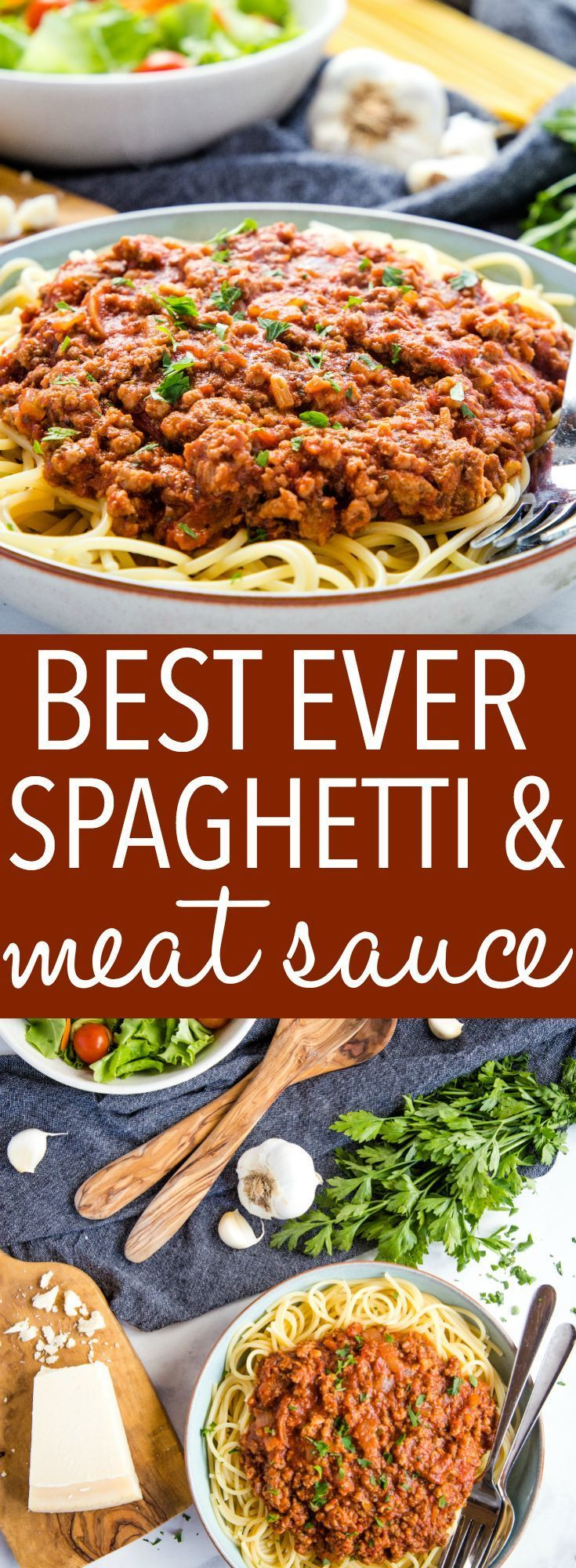Best Ever Spaghetti and Meat Sauce