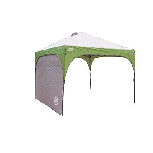 Coleman Instant Canopy Sunwall, Accessory Only, 10 x 10 Feet - Add extra weather protection to your sun canopy with the Coleman Instant Canopy Sunwall. Designed for use with 10 x 10-foot straight-leg Coleman Instant Canopies (sold separately), this canopy wall is made of UVGuard fabric that provides 50+ UPF sun protection. The heavy-duty material can also he...